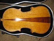 Fiddle, bow, & case in Alamogordo, New Mexico