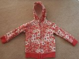 Girls Old Navy zip front hoodie 4T in Plainfield, Illinois