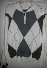 NEW BKE Argyle Sweater Mens Medium From BUCKLE in Fort Hood, Texas