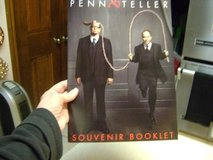 "Las Vegas Act ""Penn & Teller""  - Souvenir Book in Kingwood, Texas"