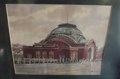 Tacomas Union Station water colour by Paul Norton in Tacoma, Washington