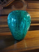 Green Crackled Vase in Glendale Heights, Illinois