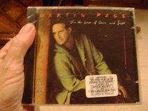Martin Page CD -- Sealed in Kingwood, Texas