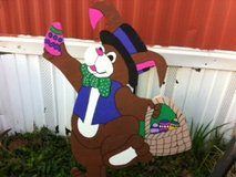 Easter Bunny Lawn Decor in Alexandria, Louisiana