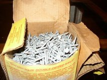 5 lb Galvanized Steel Nails - Reduced in Cherry Point, North Carolina