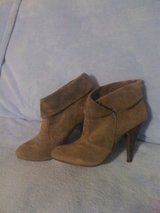 REDUCED!!!New,sz.8.5,olive booties in DeRidder, Louisiana